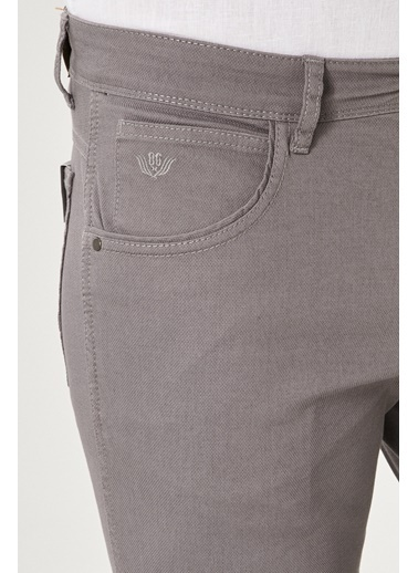 Beymen Business 4B0118200021 Taş Regular Fit Pantolon  Gri